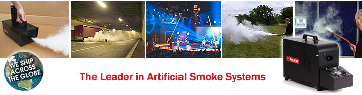 Smoke machines for every requirement