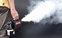 portable fog machine for costume