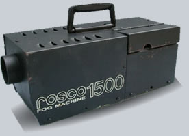 rosco 1600 fog machine manual